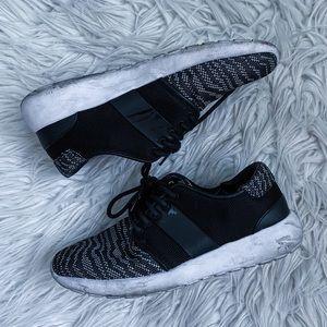Zara Black and White Sneakers Size 8